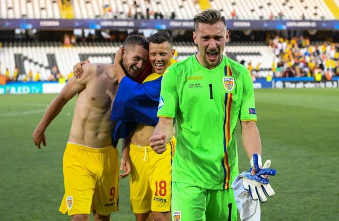 George Pușcaș, Adrian Rus și Ionuț Radu - naționala U21