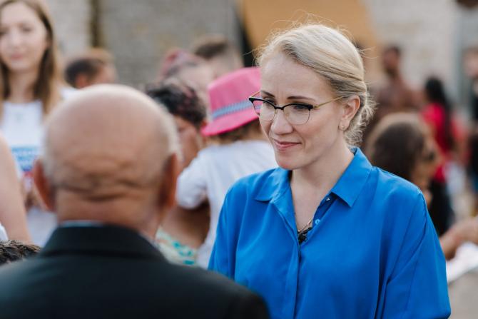 Ramona Ioana Bruynseels, candidatul umaniștilor la prezidențiale