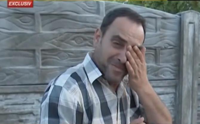Claudiu Melencu, tatăl Luizei Melencu. Foto: captură România TV