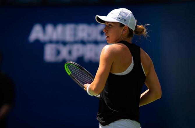 Simona Halep - US Open. foto: @simonahalep - FB