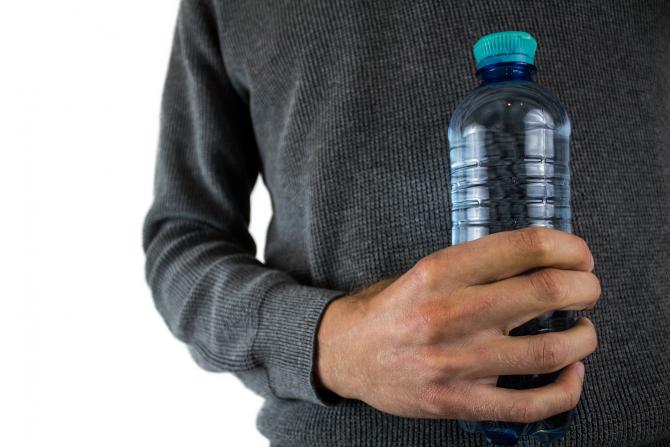 sticlă plastic