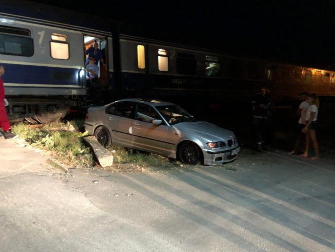Accident feroviar. FOTO: ISU Constanța