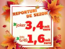 Crește reportul la Joker