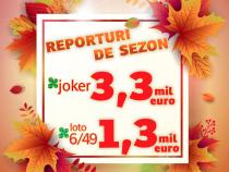 Căștiguri de milioane de euro la tragerile de joi, 12 septembrie, 2019