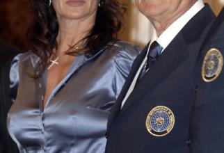 Nadia Comăneci și Bruno Grandi