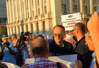 Alexandru Cumpănașu la mitingul de ziua Alexandrei