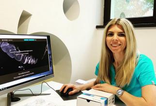 Denisa Zaharia, ortodont