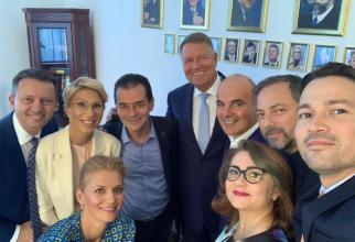 Sedinta Iohannis - PNL
