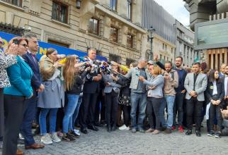Biroul Electoral Central. Klaus Iohannis și-a depus candidatura. FOTO: DCNEWS