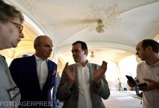 Rareș Bogdan - Ludovic Orban. FOTO: Agerpres