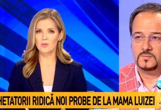 Nadina Câmpean replici acide cu Tonel Pop  - Captură FOTO: Antena 3
