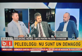 Theodor Paleologu Captură B1 TV