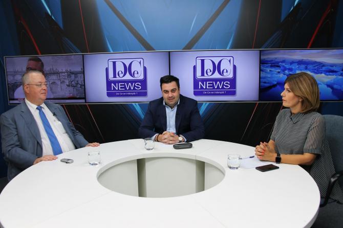 Răzvan Cuc la interviurile DCNews