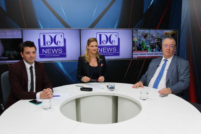 Ramona Mănescu la interviurile DCNews