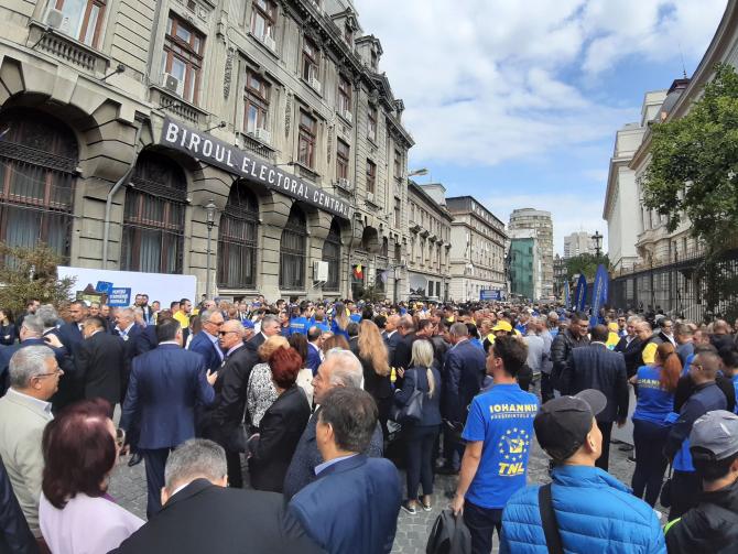 Biroul Electoral Central. Klaus Iohannis și-a depus candidatura.