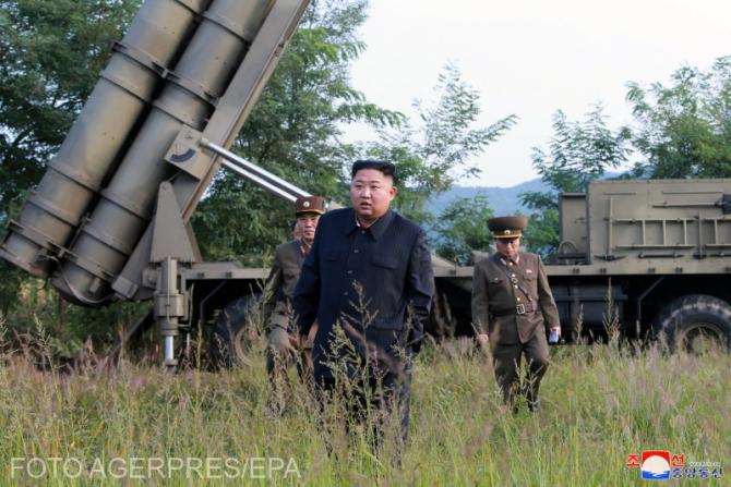 Kim Jong Un a condus personal pe teren acest test destinat 'să măsoare timpul de desfăşurare' a lansatorului de rachete