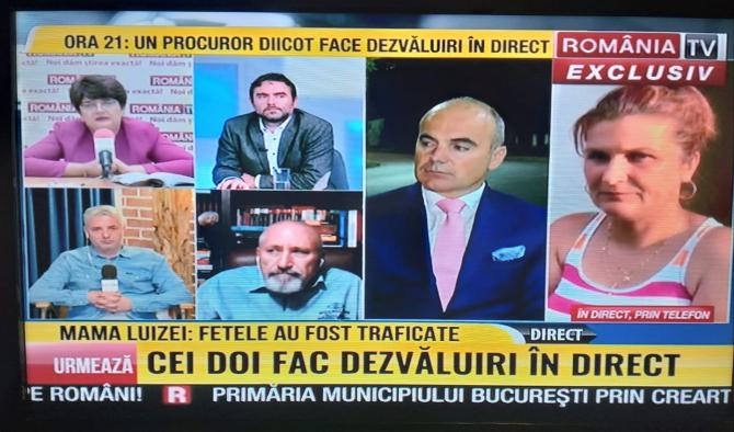 Replici Carmen Obârșanu - Rareș Bodan. Captură FOTO România TV