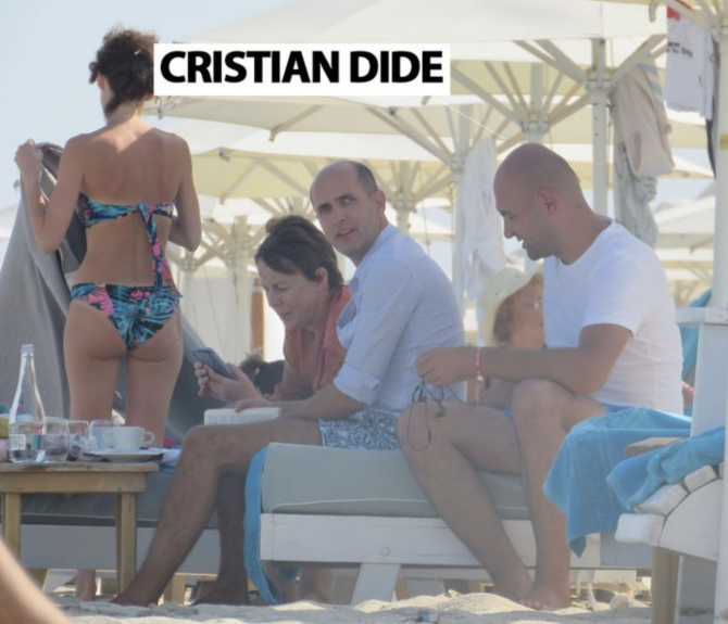 Cristian Dide, surprins de Cancan.ro