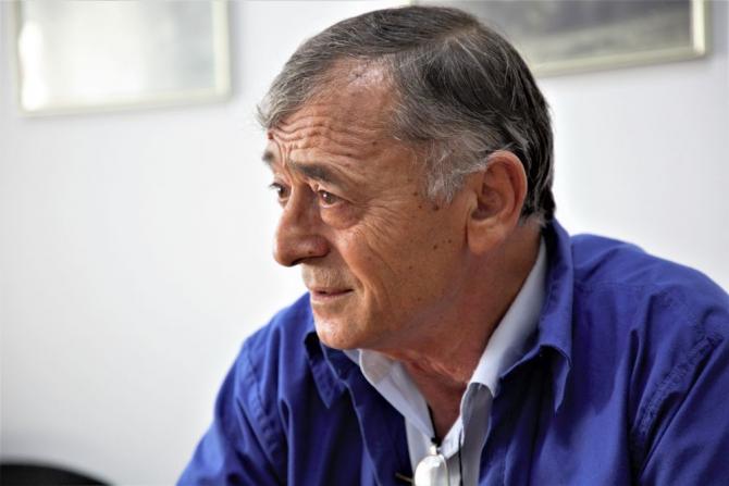 Inginerul Enache Dina. Foto: Rompetrol