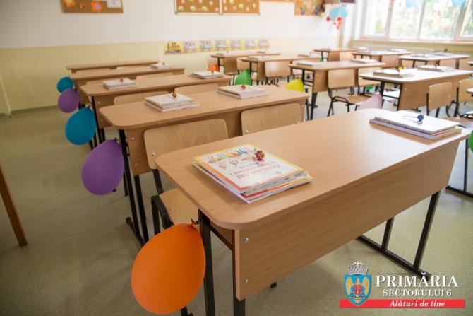 Elevii care învață în Sectorul 6 au fost așteptați, ca la fiecare început de an școlar, în spații moderne și curate