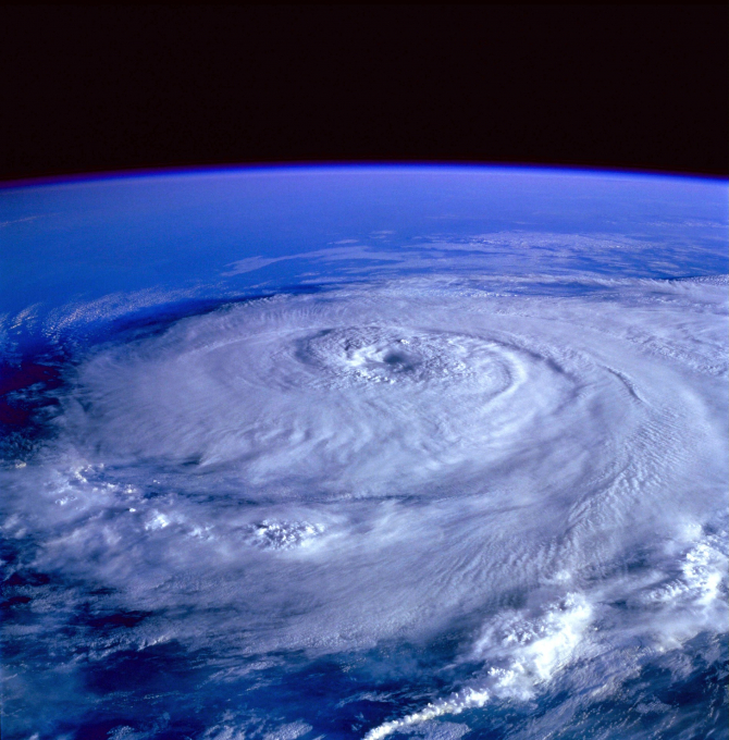 Uragan. Foto cu caracter ilustrativ. Sursa: Pixabay.com