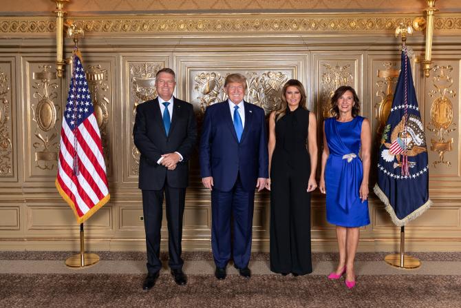 Întâlnire Iohannis Trump 2019 Sursa FOTO: Facebook Klaus Iohannis