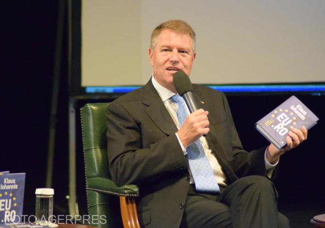 Klaus Iohannis Foto: Agerpres