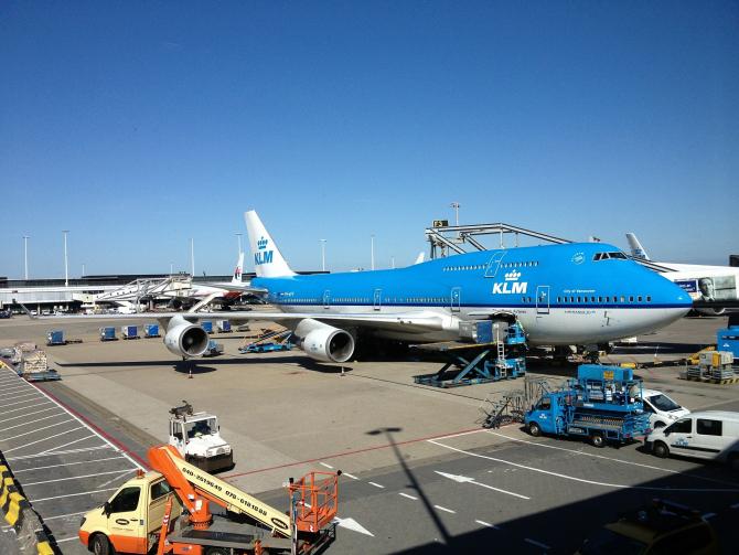 Compania aeriană KLM. FOTO: Pixabay.com