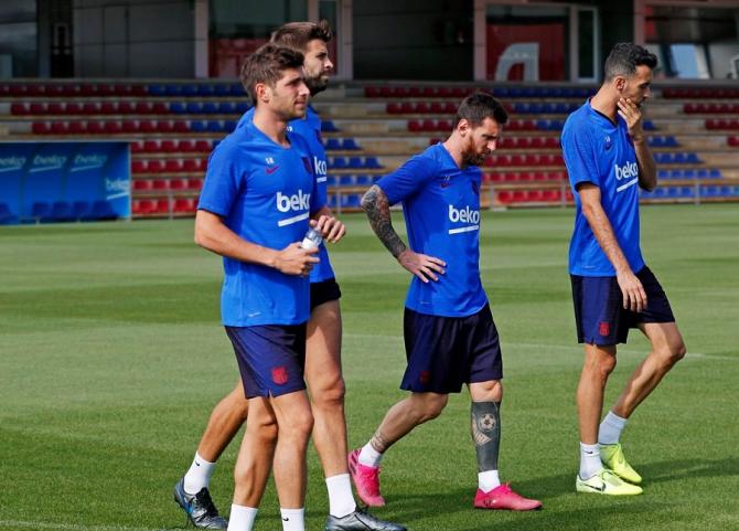 Gerard Pique a recunoscut problemele Barcelonei. foto: @fcbarcelona - FB