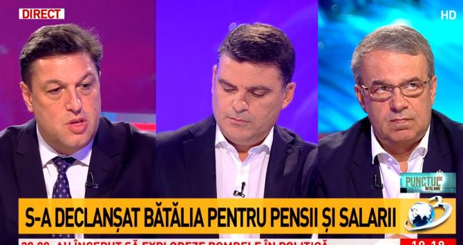 """""""Punctul de întâlnire"""", Antena 3"""