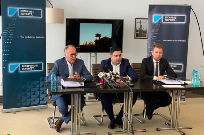 Contractul de refuncţionalizare a Aeroportului Băneasa a fost semnat. Răzvan Cuc: O să monitorizez din şantier