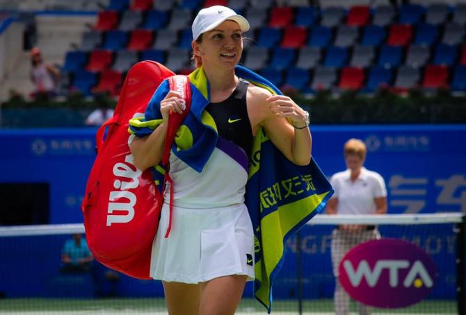 Simona Halep crede că va putea juca la turneul de la Beijing. foto: @simonahalep - FB