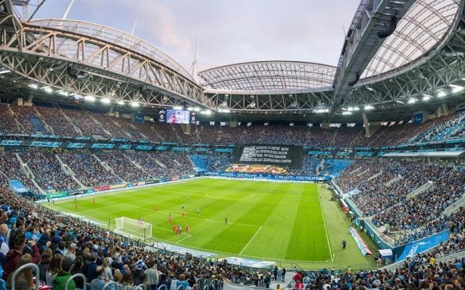 Stadionul Krestovsky din Sankt Petersburg. foto: FRF