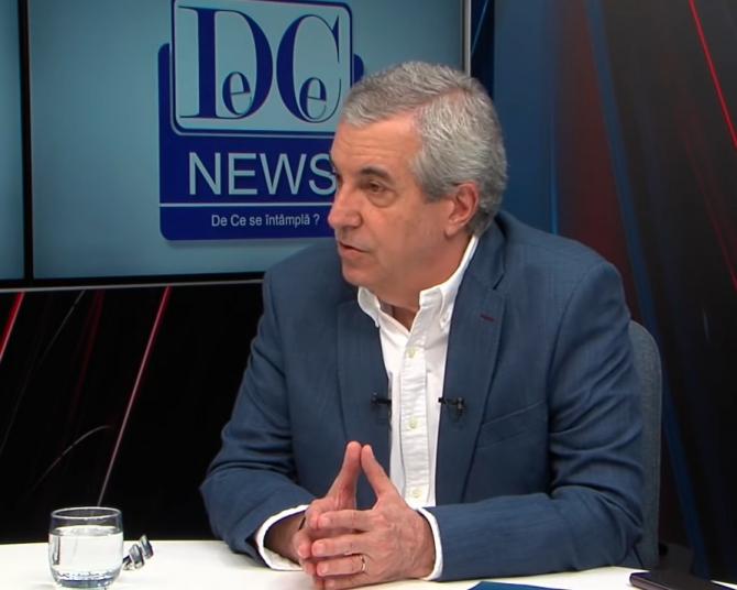 Călin Popescu Tăriceanu, declarații explozive le DC News