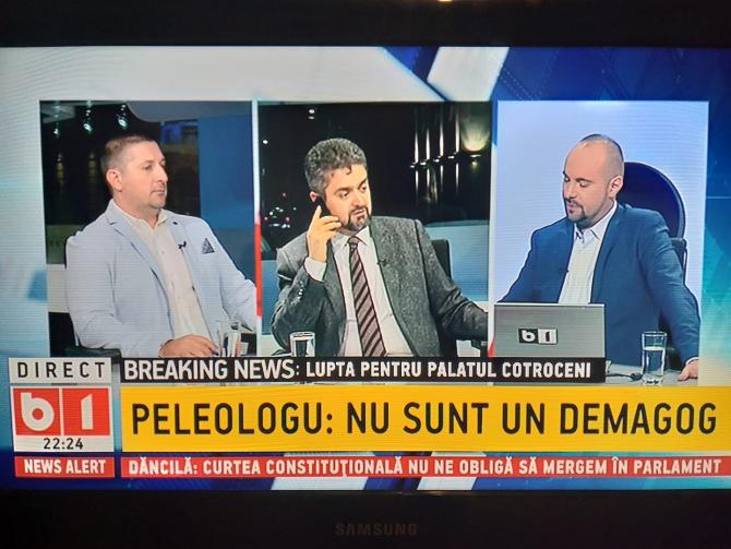 Theodor Paleologu Captură B1 TV