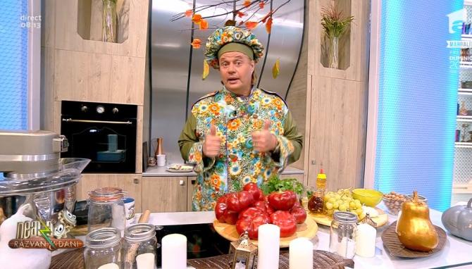 Vlăduţ, bucătarul de la Neatza cu Răzvan şi Dani