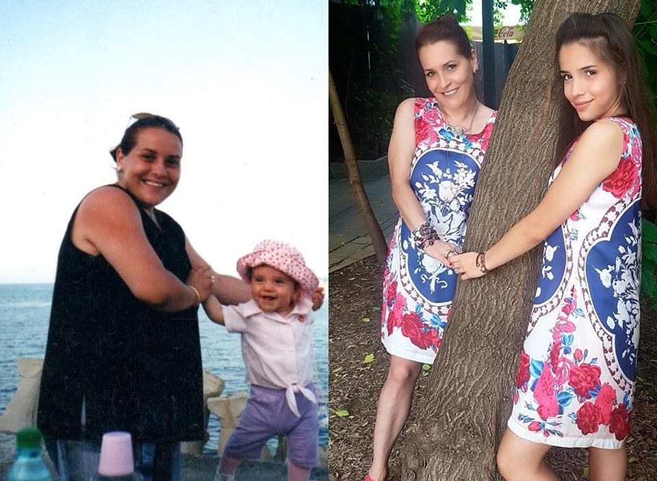 Irina Reisler a slabit 44kg!
