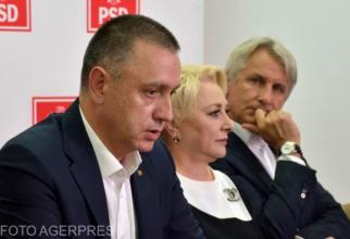 Mihai Fifor, Viorica Dăncilă și Eugen Teodorovici