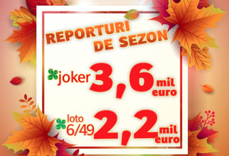 Reporturile la Joker și Loto 6/49, atractive