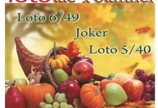 Reporturi mari la tragerile loteriei de duminică, 20 octombrie, 2019