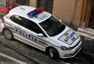Mașină Poliție. FOTO AGERPRES