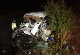 FOTO: IGSU. Accident grav în Ialomița