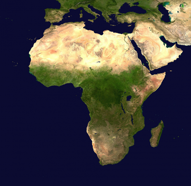 Africa. Foto: https://pixabay.com