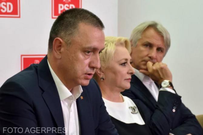 Mihai Fifor, Viorica Dăncilă și Eugen Teodorovici FOTO AGERPRES