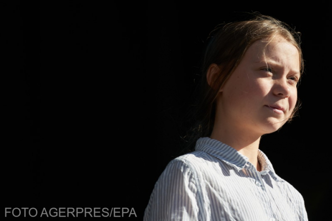 Greta Thunberg FOTO: Agerpres