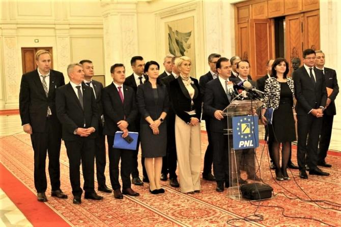 Investire Guvern Orban - ședința birourilor permanente