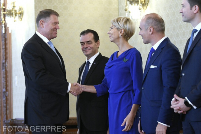 Klaus Iohannis și reprezentanți PNL la consultările de la Cotroceni