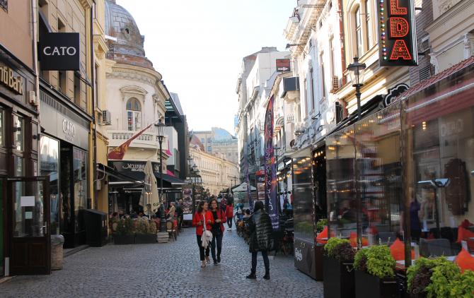 Centrul Vechi al Capitalei  Foto: Crișan Andreescu