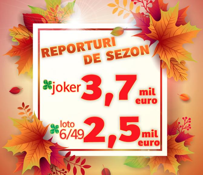 Reporturi  atractive la Joker și Loto 6/49