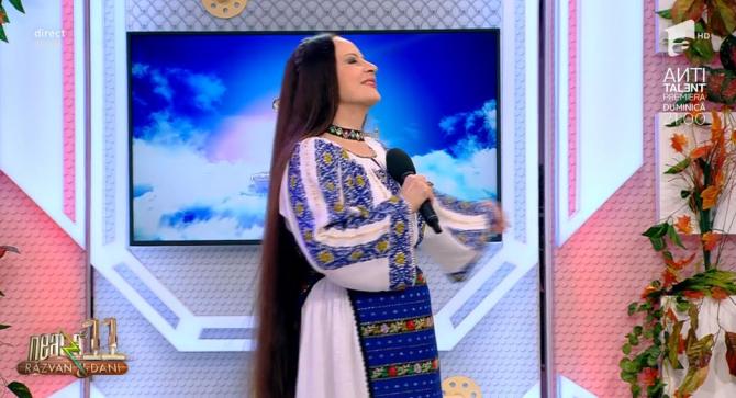 "Maria Dragomiroiu la ""Neatza cu Răzvan și Dani"""